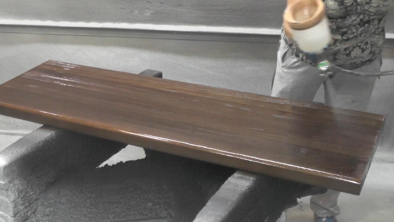 Помещение для покраски деревянных изделий