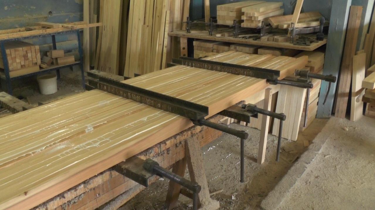 Пресс для склейки древесины своими руками